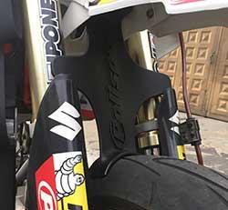 soporte de suspension delantera drz 400