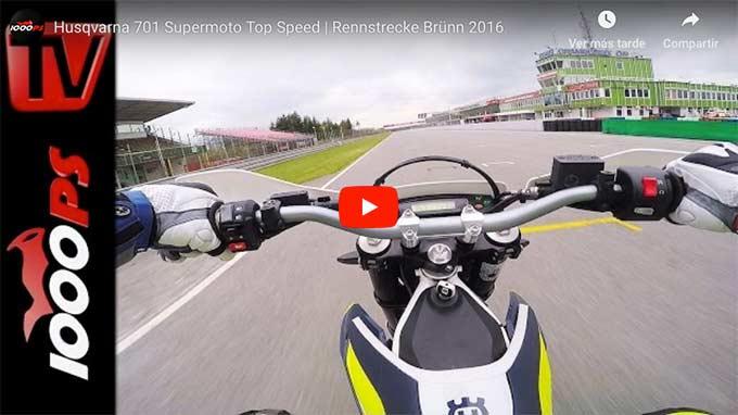 top speed del husqvarna 701 supermoto